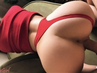 butt cum on ass big cock petite point of view doggystyle